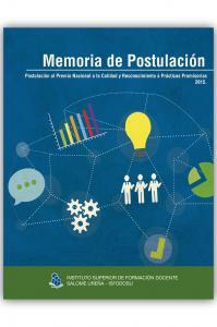 Cubierta para Memoria de postulación 2015