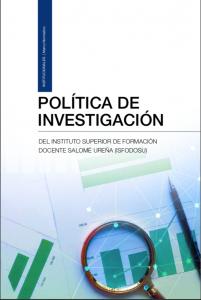 Cubierta para Política de Investigación del ISFODOSU